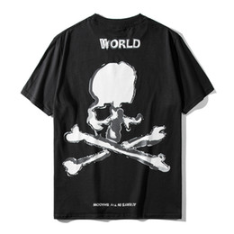 skull bones shirt Canada - 2021 New Luxury Men Mastermind Mmj Skull Bone World t Shirts T-shirt Hip Hop Skateboard Parkour Street Cotton T-shirts Tee Top N149 F80l
