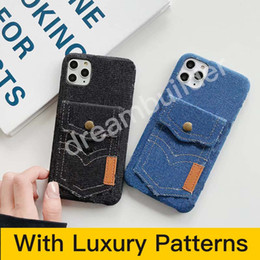 fashion phone case for iphone 12 pro max 11 Pro Max 7 8 plus designer cover iphone X XR XS MAX with card on Sale