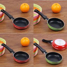 venda por atacado Mini pequena frigideira espessamento espessamento flat pote pessoa única cozinha gadget prático fácil limpar 4 96JQ J3