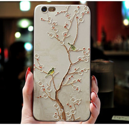 Wholesale apple 5s cell phone case resale online - 20 Style Personity Cell Phone Case for phone plus XS s Plus s Mobile Phone for Women Girls Cheap Colorful Painted