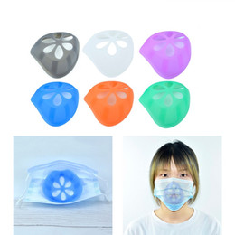 Wholesale space masks for sale - Group buy Silicone Bracket D Face Mask Inner Support Frame for More Breathing Space Silicone Mask Frame for Lipstick Makeup Protection GGE2158