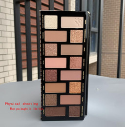Wholesale Cosmetic Born This Way The Natural Nudes palettes 16 colors Eye Shadow Palette Shimmer Matte Makeup