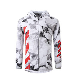 Wholesale polyester fishing shirt resale online - 2020 New Summer Outdoor Sporting Fishing Jackets Uv Protection Long Sleeve Hoodie For Men Quick Dry Jerseys Fishing Shirts