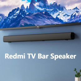 Wholesale Xiaomi Youpin Redmi TV Bar Speaker Wired and Wireless 30W Bluetooth 5.0 Home Surround SoundBar Stereo for PC Theater Aux 3.5mm