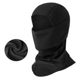 Soğuk hava için kayak maskesi Balaclava rüzgar geçirmez boyun isıtıcı veya taktik davlumbaz nihai termal tutma