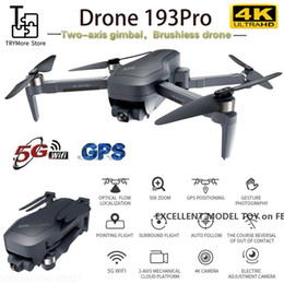 193PRO 2000 Meters Remote Control Drone, 4K HD FPV, Two-axis Gimbal, Camera Electric Adjustment 90 °,GPS Follow Me Function,Track Flight,2-1 on Sale