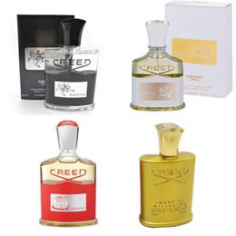 2018 Hottest Golden Edition Credo Parfüm Millesime Kaiser Düfte Unisex Parfüm für Männer Frauen 100 ml freies Verschiffen im Angebot