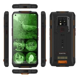 oukitel smartphone UK - OUKITEL WP7 Moblie Phone Android 9.0 CPU MT6779 8GB RAM 128GB ROM 8000mAh Battery Infrared Night Vidion Rugged Smartphone