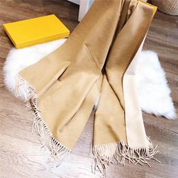 Hombres mujeres bufandas con patrón colorido otoño primavera invierno bufandas cálidas unisex wraps cuatro colores opciones de lana calidad en venta