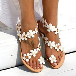 Filles papillon fleur flip flop avec paillettes bracelet