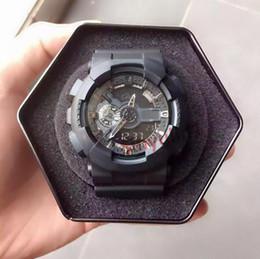2021 Mode Luxury Herren G Style Military Armbanduhren Multifunktions LED Digitalschock Quarz Sport Uhren für Mann Männliche Studentenuhr im Angebot