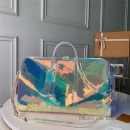 2021 crafty mens BANDOULIÈRE duffel bag keepall designer travel weekend bags duffle luggage sports tote flower black