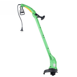 Wholesale Household Lawn Mower Handle Garden Grass Cutter Machine Power Trimmer portable lawn mower 220V plug-in blade grass rope