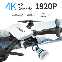 Ingrosso 2020 Nuova Tecnologia 4K HD Fotocamera Aerial Quadcopter Intelligente seguente Drone professionale RC con fotocamera R8 Radio + Control + Giocattoli