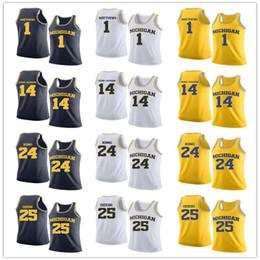 Wholesale king size men for sale – custom Custom NCAA Michigan Wolverines MAN YOUTH King Rico Ozuna Harrison Naji Ozeir Charles Matthews basketball jerseys size S XL