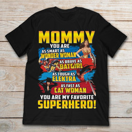Мамочка Вы такой умный, как Wonder Woman You Are My Favorite Superhero T-Shirt