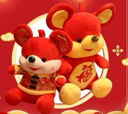 kids mascot suits NZ - Top new creative The Kids toy of 2020 is cute smile Tang suit rat doll gift and mascot of the Year of rat