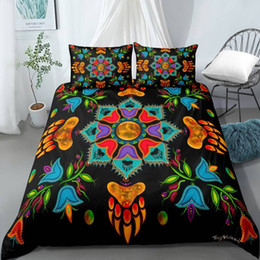 queen size boys bedding NZ - Bedding Set 3D Print Design Duvet Cover Sets King Queen Twin Size Dropshipping Boy gife Bohemia Turtle Hawaii
