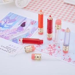 5ml vazio labelo labelo contêiner labial bálsamo tubos forma lápis diy etiqueta privada batom frascos recarregáveis mini recipiente de amostra em Promoção