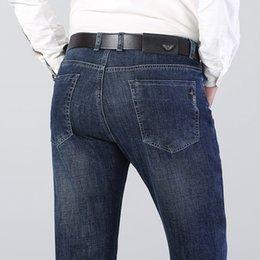 Wholesale jeans boutique resale online – designer Cr9Uq New boutique business men s pants and jeans autumn dad winter loose jeans straight men s label pYraD