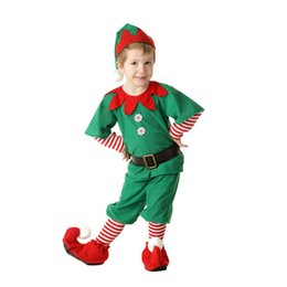 Wholesale father christmas costumes online – ideas Boys and Girls Christmas Clothes Parent Child Matching Outfits Long Sleeved Parent Child Leisure Wear Set Costumes New Year