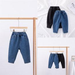 Wholesale plus sizes jeans for sale - Group buy 8NMUG Girls jeans Add velvet Plus Jeans child Girls Baby Girls Pants Slim Skinny Kids Thicken Leggings Size Casual Children Cotton Keep