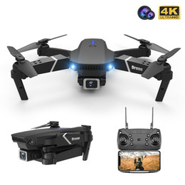 Quadcopter Drone HD 4K 1080P Camera Electric RC Aircraft WiFi FPV HeightKeeping RC Foldable Dron Toy boys friends Gift on Sale