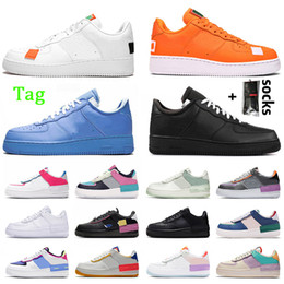 Wholesale Top Quality Platform One Women Mens Running Shoes 1 White Orange MCA University Blue Utility Red Volt Shadow Trainers Sneakers