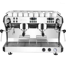 Wholesale Commercial Coffee Machine Italian Semi Automatic Steam Double Equipment1
