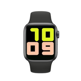 Wholesale apple watch 5 camera resale online - Smartwatch IWO13 T500 Series Bluetooth Call mm Smart Watch Heart Rate Monitor Blood Pressure for IOS Android PK IWO IWO