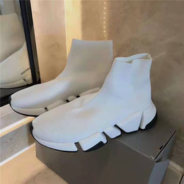 Wholesale Wholesale top-level high-quality top-level running street dance shoes High-quality luxury leisure designer flat socks shoes are worth your c