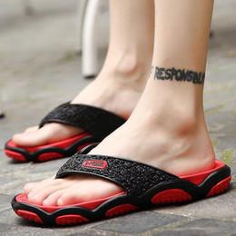 Top Quality Men's Women's Slippers Sandals Shoes Slide Summer Fashion Wide Flat Flip Flops Size EUR36-EUR46 on Sale