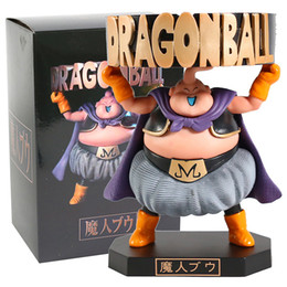 buu model 2021 - Majin Buu Ashtray Action Figure Decorations Japan Anime Character Pvc Figurines Collectible Model Toys X0121