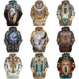 Wholesale sweatshirt hoodies panda for sale – custom Mens Personality Hoodies Fashion Casual Panda Print Sweatshirt Fleece Cotton Unisex Hip Hop Pullover Hoodie