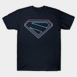 Wholesale superman shirts online – design Men t shirt Superman Kingdom Come Symbol tshirt Women t shirt