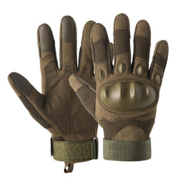 Wholesale military winter gloves resale online - Ltoheyn Special Mens Military Fan Fighting Winter Riding Fitness Gloves Tactics Full Finger Sports Touch Screen Gloves Z910 sqcdLN