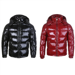 Wholesale woman s parka resale online - 2020Mens Winter Down Jacket Puffer Jacket Hooded Thick Coat Jacket Men High Quality Down Jackets Men Women Couples Parka Winter Coat