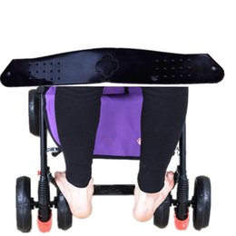 plastic baby prams Australia - Stroller Footboard Pedal Foot Rest Baby Footrest Plastic Black Stroller Accessories Baby Carriage Pram Anti-Skid Product