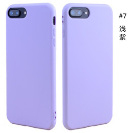 11 iphone colors Canada - TPU silicone soft cell phone case slim ultra thin cheap cell phone case cover candy colors for iphone 12 11 Pro X Xs Max Xr 6S 7 8 plus DHL