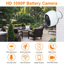 wireless security cameras outdoors 2020 - NEW Intelligent WIFI Camera Wire Free Outdoor Security Camera Rechargeable Battery Wireless IP Cam 1080P Wifi IP PIR che