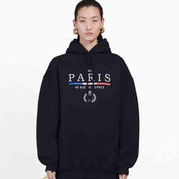 Großhandel 19FW Crown BL Letters Stickerei Sweatshirt Männer Frauen Mode Hoodie Winter-Street Pullover Pullover Homme Kleidung S-XL