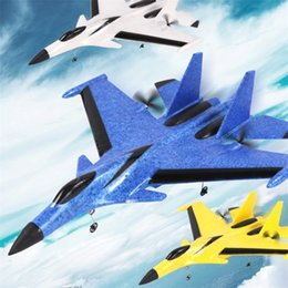 2. Glider Plane Hand Throwing foam drone RC airplane model Fixed wing toy aviones a control remoto juguete toys for boys LJ201210 on Sale