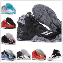 Wholesale roses stores for sale - Group buy Performance Men s D Rose High Top Basketball Shoe yakuda Local training Sneakers local boots online store Dropshipping Accepted