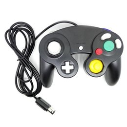 9 cores High Performance Game Controller para Nintendo Gamecube Dual Analog joysticks choque Gamepad para Nintendo Wii em Promoiio