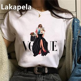 Wholesale 90s grunge clothing for sale – custom Women T Shirt Print Female Grunge Ulzzang Tshirt Cartoon Funny Tops Shirts s T shirt Graphic Clothes Fashion Drop Ship bbyopz bdeclothes