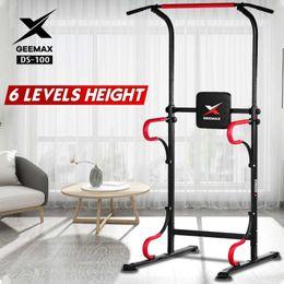 Geemax DS-100 Tirez le bar Power Tower Push Up Home Gym Gym Abdominal Muscle Dresseur Equipement de fitness intérieur avec cadeau en Solde
