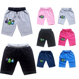 Wholesale kid boxers for sale - Group buy New Game Among Us Shorts Children Short Pants Kids Baby Cartoon Anime Shorts Juniors Boy Girls Cotton Clothes Summer Shorts Boxers CZ122803