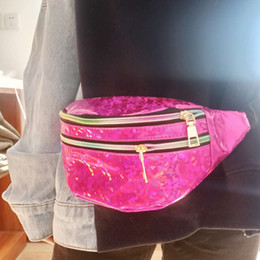 fanny pack baby NZ - Baby Phone For Fashion Sequins Girls Kid 2020 Bag Fanny Pack Printing Belt Shoulder Bags Kids Waist Packs Glitter Waist Pouch Jvews