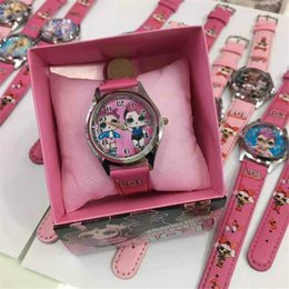 Hot LOL doll boxed watch cute cartoon electronic watch girl gift children's day birthday gift lol on Sale