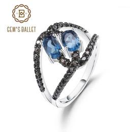 Nouveau Spécial bijoux cadeau LONDON BLUE TOPAZ Gems Charme Femmes Anneaux SZ 6-10